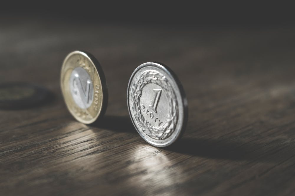 Trzy złote w dwóch monetach